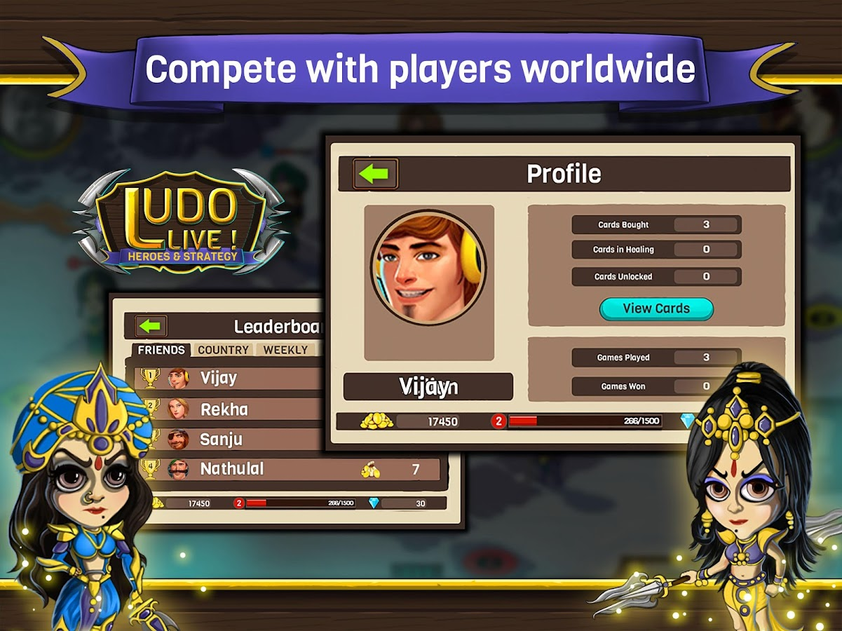 Ludo Live! Heroes & Strategy- screenshot
