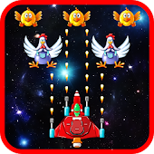 Space Attack: Chicken Shooter