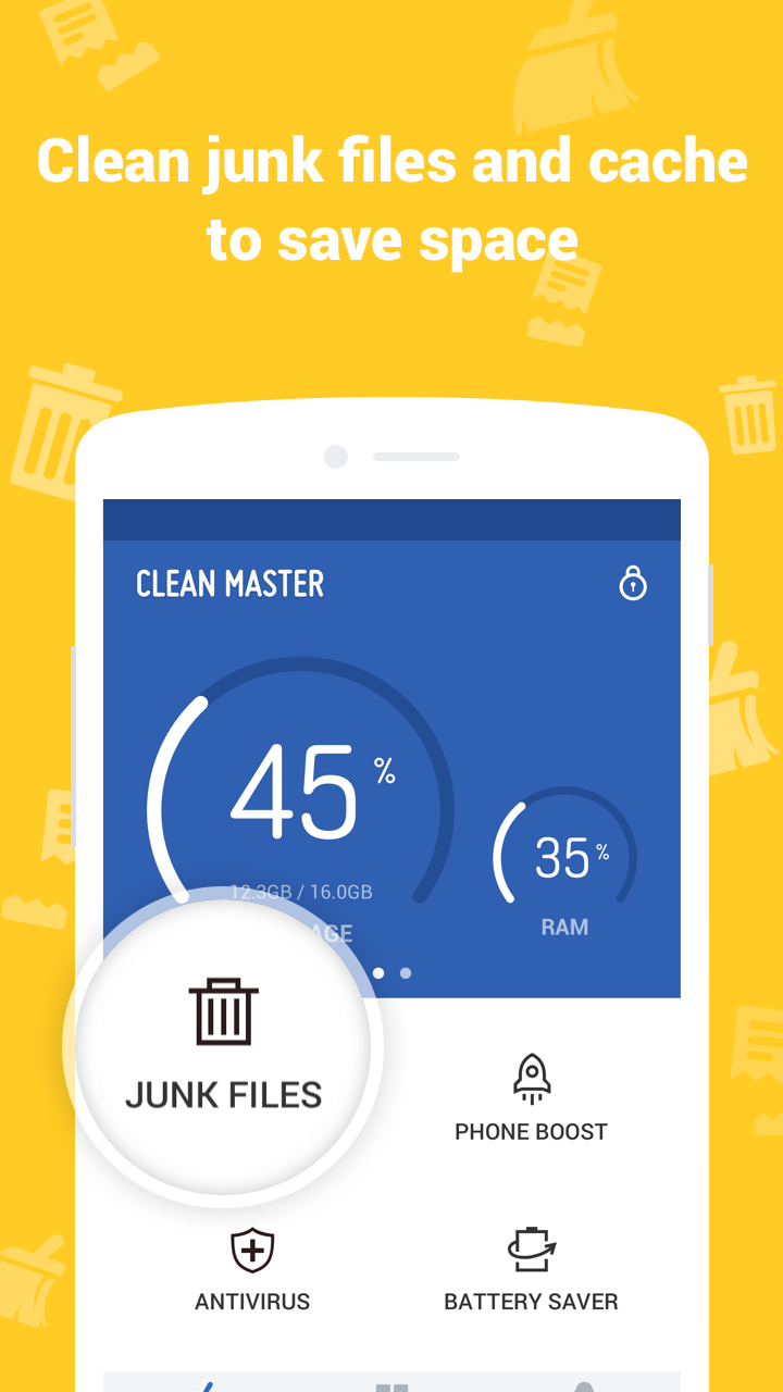 Clean Master (Boost & AppLock) image #1
