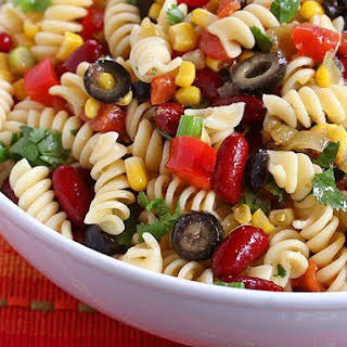 Spicy Mexican Pasta Salad.