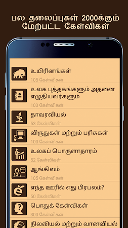 General Knowledge in Tamil 15.0 screenshot 709096