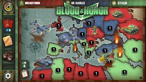 Blood & Honor: War, Strategy & Risk apkpoly screenshots 5