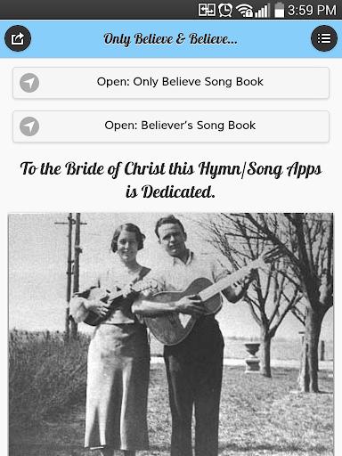 Only Believe & Believers Hymns 0 0 3 Apk Download