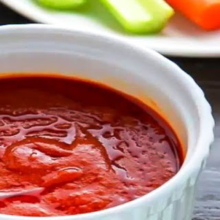 Vegan Buffalo Sauce.