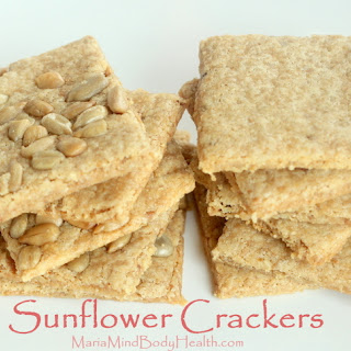 Sunflower Seed Crackers.