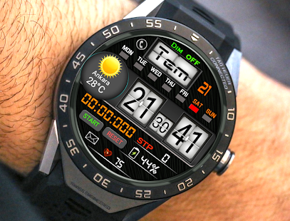 Marine Watch Face For WatchMaker Users Screenshot