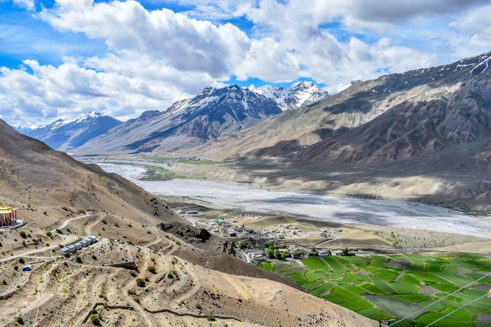 Spiti+valley+himachal+pradesh+himalayas+india