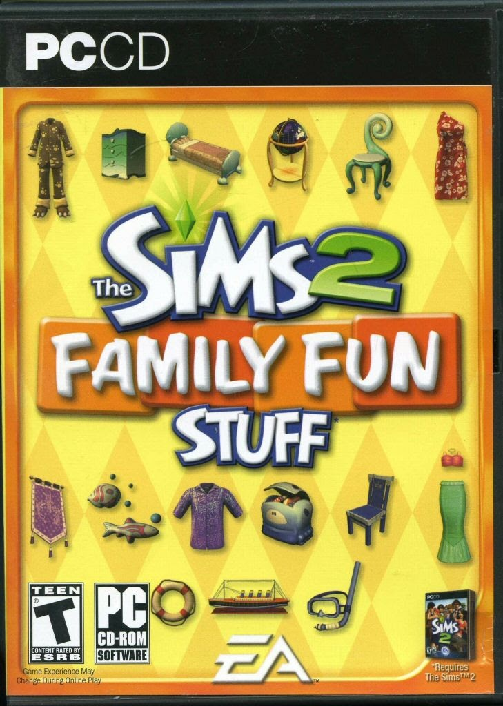 Video game:The Sims 2: Family Fun Stuff — Google Arts & Culture