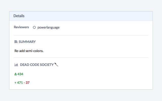 Dead Code Society