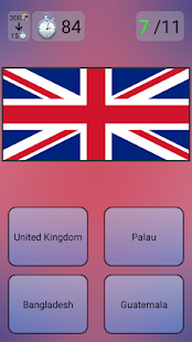 Flags and Countries Quiz - náhled