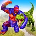 Angry Dinosaur Attack Dinosaur Rampage Games icon