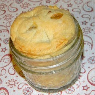 Apple Pie in jelly jars