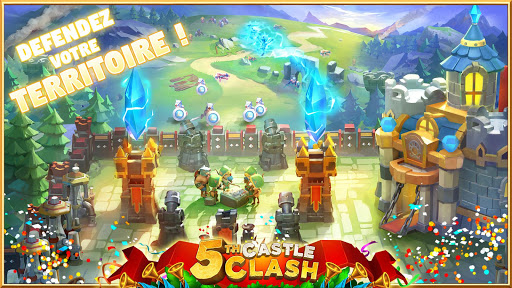 Castle Clash: RPG War and Strategy FR  {cheat|hack|gameplay|apk mod|resources generator} 2