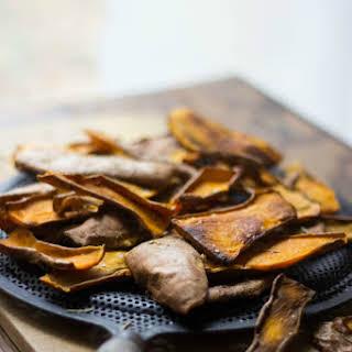 Sweet Potato Skin Chips.
