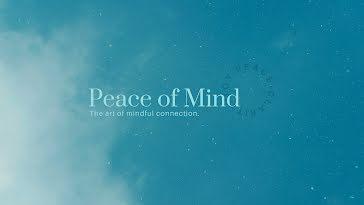 Joy Peace Clarity - YouTube Channel Art template