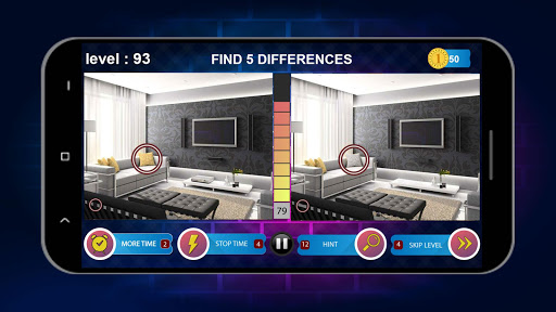 Spot 5 Differences 1000 levels screenshots 5