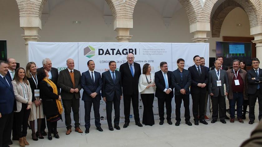 Foto de grupo tras el congreso.