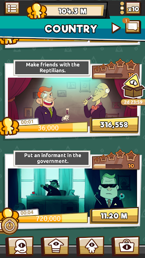 We Are Illuminati - Conspiracy Simulator Clicker 1.4.10 screenshots 6