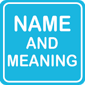 English Name and Meanings
