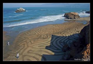 Photo: 'Cells II,' Ocean Beach, SF.