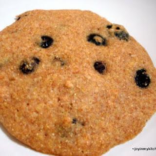 Blueberry Cornmeal Breakfast Cookies