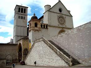 Photo: Asyż - Bazylika św. Franciszka (w środku brygada pilnuje aby nie robić zdjeć)