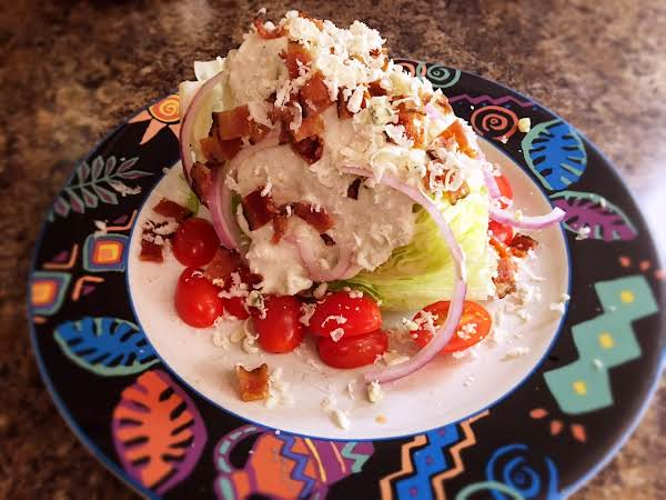 Bacon Wedge Salad Recipe