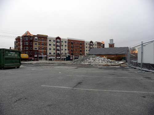 Photo: Rollins Center on The Pike - Existing Site Conditions
