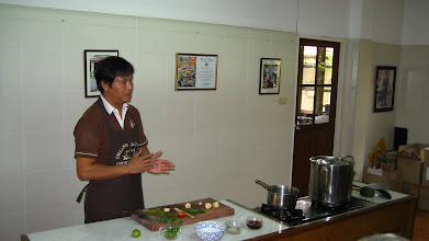 Photo: Sompon Nabnian, renowned chef and owner of the cookery school