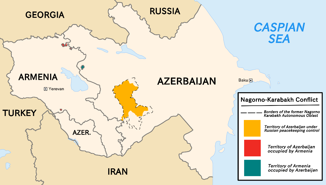 Nagorno-Karabakh conflict - Wikipedia