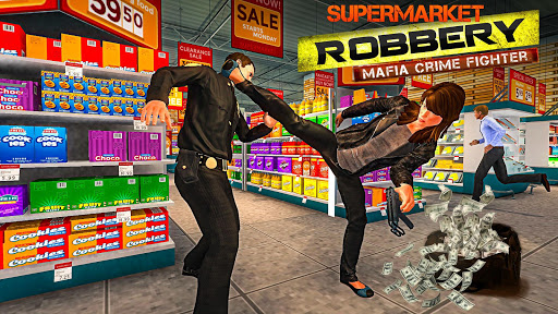 Supermarket Robbery - Mafia Crime Fighter 1.1.2 {cheat|hack|gameplay|apk mod|resources generator} 3
