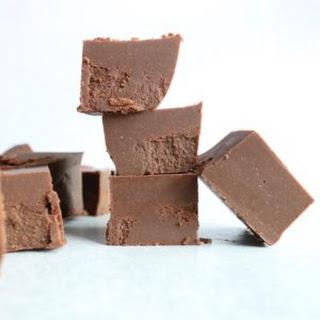 Healthy Chocolate Fudge.