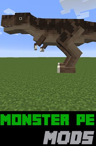 Monster PE Mods For MC