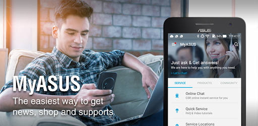 MyASUS - Service Center app (apk) free download for Android/PC/Windows screenshot