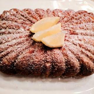 Meyer Lemon Ricotta Pound Cake.