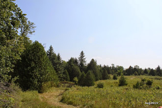 Photo: Goldenville Walking trail. HIlls and fields.