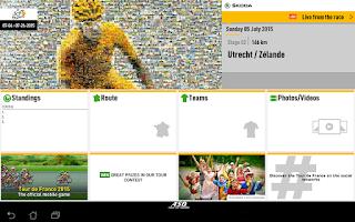 Screenshot of TOUR DE FRANCE 2015 by ŠKODA