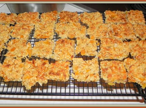 Apricot, Coconut And Almond Bars Recipe