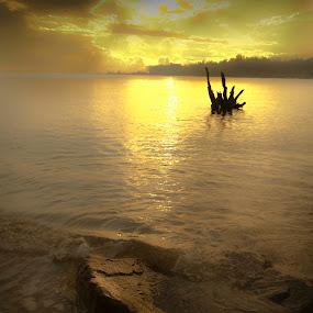sunrise at pantai bernas by Chairelgibrant Othman - Landscapes Sunsets & Sunrises