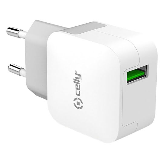 Celly väggladdare 2.4A USB