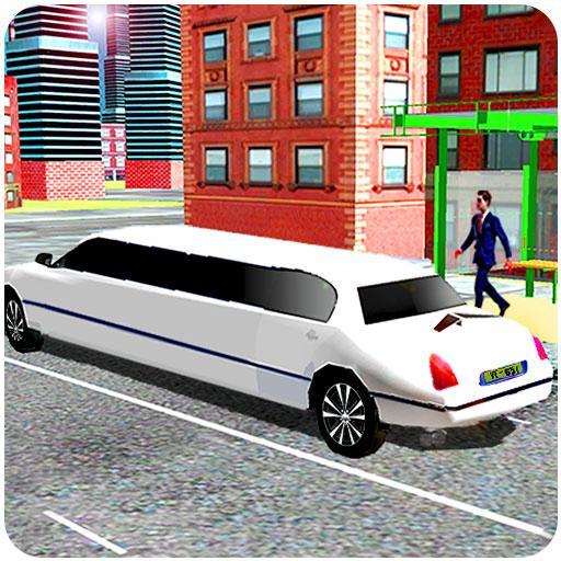 city limousine taxi car simulator (game)