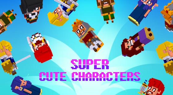 Cube Knight: Battle of Camelot screenshot