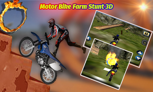 MOTOバイクFARM STUNT 3D