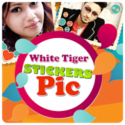 White Tiger Stickers App