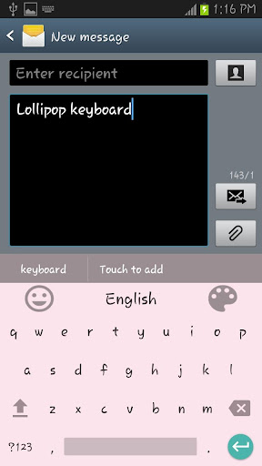 Lollipop Keyboard