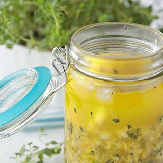 Whole Lemon Thyme Salad Dressing.
