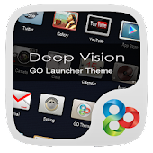 Deep Vision2 GO Launcher Theme