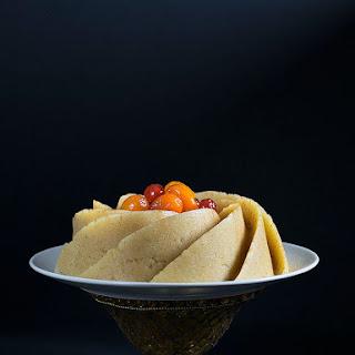 No bake oriental semolina cake (aka Halva).