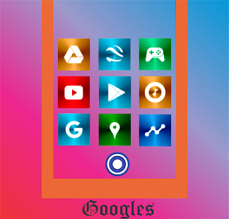 Color Metal 1 - Icon Pack Screenshot