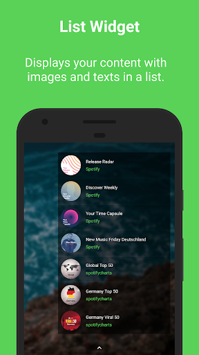 Sign for Spotify - Spotify Widgets and Shortcuts screenshot 5